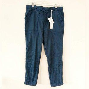 Level 99 Linen & Tencel Blend Drawstring Pants